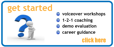 get started in voiceovers now